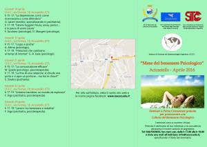 Programma mese del benessere psicologico
